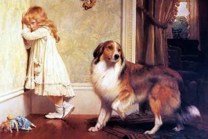 Чарльз Бертон Барбер. Собачья защита