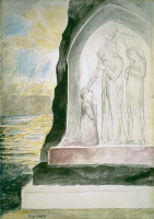 """William Blake. The angel said Dante. Illustrations for """"the divine Comedy"""""""
