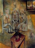 Элберт Блох. Три человека в комнате
