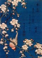 Кацусика Хокусай. Цветы и птица