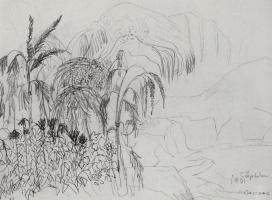 Мартирос Сергеевич Сарьян. Деревья цветут. 1901