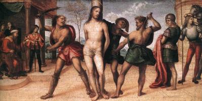 Джованни Антонио Бацци (Содома). Бичевание Христа