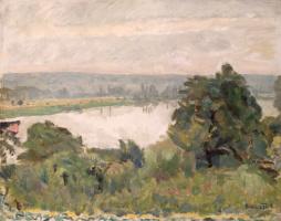 Пьер Боннар. Сена близ Вернона