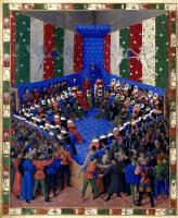 Жан Фуке. Правосудие. Заседание суда под председательством короля Карла VI