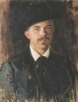 Иван Семенович Куликов. Портрет художника Л.В. Попова. 1900