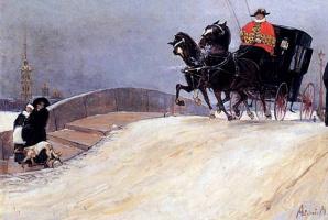 Михаил Иванович Авилов. Мост