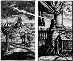 Венцель Холлар. Эмблематическое изображение стойкости Карла I в несчастье