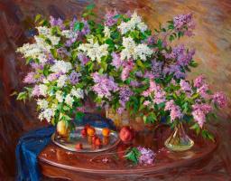Maxim Sidorenko. Fresh lilac