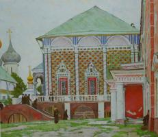 """Refectory of the Trinity-Sergius Lavra"" 1922"