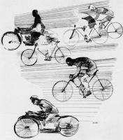Александр Александрович Дейнека. За город, на воздух. Иллюстрация из журнала «Прожектор» (1928. № 23)