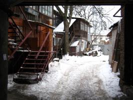 "Алексей Гришанков (Alegri). ""Winter yard"""