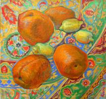 Анна Юрьевна Боско. Диптих. Апельсины