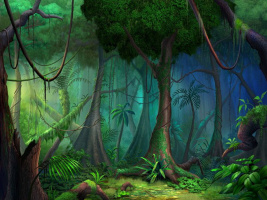 Филипп Страуб. Большой тропический лес