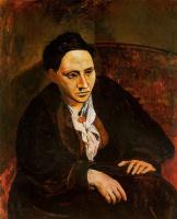 Пабло Пикассо. Задумчивая женщина