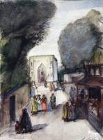 Александр Аркадьевич Лабас. Ташкент