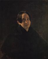 Карл Павлович Брюллов. Портрет Е.И. Дурновой, жены художника И.Т. Дурнова