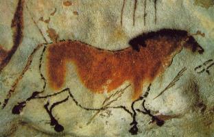 Живопись Пещера. Лошадь
