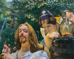 Яцек Мальчевский. Христос и самаритянская женщина