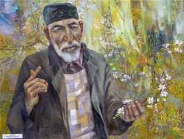 Rinat Salimzyanovich Khanafeev. Plant an apple tree, son