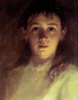 Иван Николаевич Крамской. Женский портрет. Фрагмент