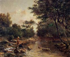 Поль-Камилл Гигу. Дерево у воды