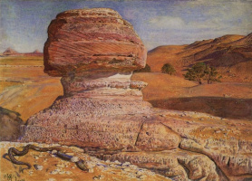 William Holman Hunt. The Sphinx in the vicinity of Giza, Egypt