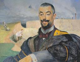 Jacek Malchevsky. Portrait Of Barack Erasmus