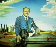 Сальвадор Дали. Портрет полковника Джека Уорнера