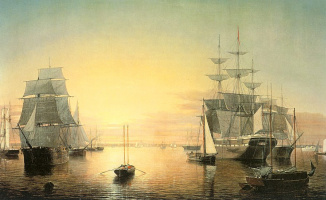 Фитц Хью Лейн. Тихое море