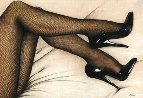 Ким Харлоу. У нее есть ноги