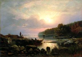 Александр Васильевич Гине. Финляндский пейзаж
