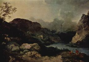 Филипп Джеймс. Вечерний пейзаж