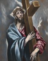 Доменико Теотокопули (Эль Греко). Христос с крестом
