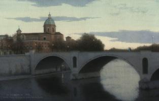 Iskander Ulumbekov. Rome. Ponte Princi Amedeo