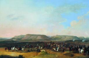 Bogdan Pavlovich Willewalde. Taking Noise. 1860