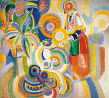 Робер Делоне. Португальская женщина