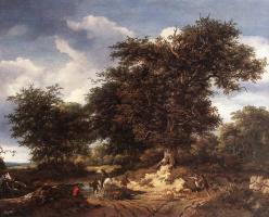 Якоб Исаакс ван Рейсдал. Великий дуб