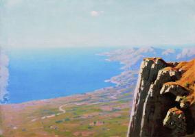 Архип Иванович Куинджи. Берег моря со скалой