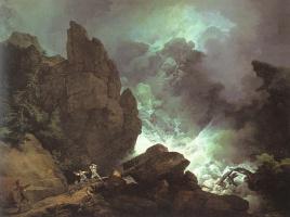 Филипп Якоб Лютербург. Небо