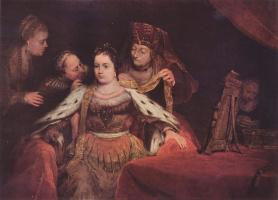 Арт де Гелдер. Еврейская невеста