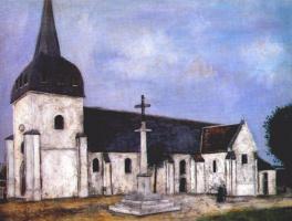 Морис Утрилло. Церковь Святого Илария