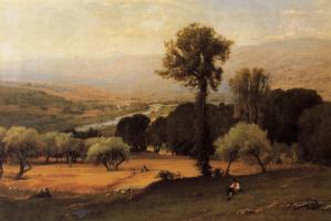 George Innes. Valley