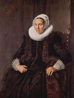 Франс Хальс. Портрет Корнелии Вохт, жены Никласа ван дер Мера