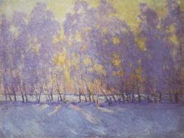 Igor Grabar. The sun rises
