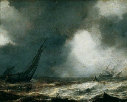 Ян Порселлис. Морской пейзаж