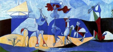 Пабло Пикассо. Жажда жизни (Пастораль)