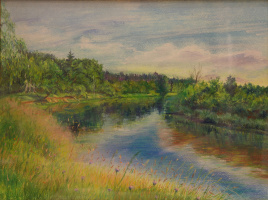 Summer on the Klyazma
