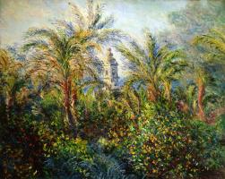 Claude Monet. Garden in Bordighera morning