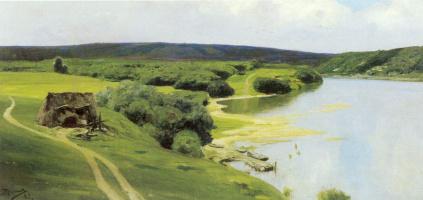 Vasily Dmitrievich Polenov. Oka