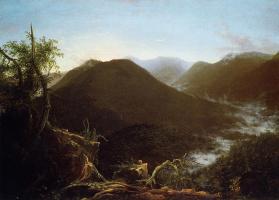 Томас Коул. Восход солнца в горах Катскилл